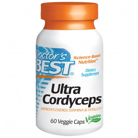 Doctor's BEST Ultra Cordyceps 750 mg 60 kaps.